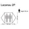 CAMPZ Lacanau Tent 2P grey